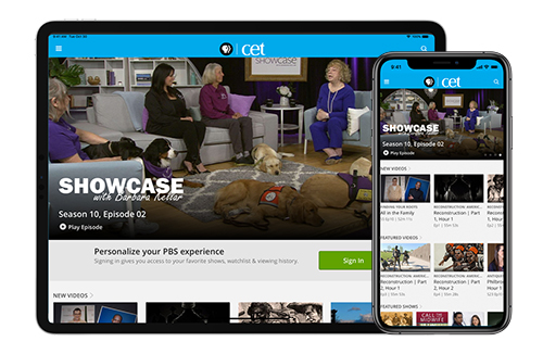 Get PBS on your mobile device