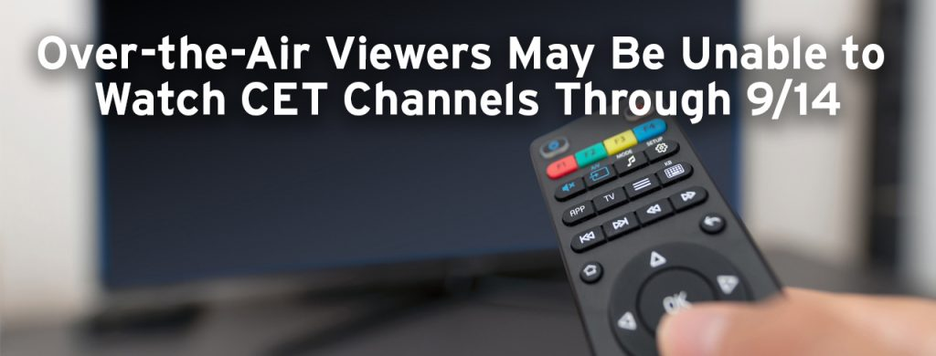 Attention Antenna TV Viewers - CET