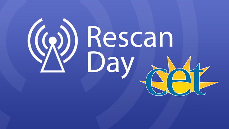 Rescan Day - Oct 18th, 1:00pm.