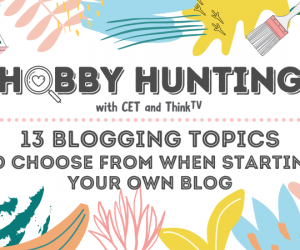 13 Blogging Topics to Choose From When Starting Your Own Blog
