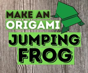 Origami: The Jumping Frog And More!
