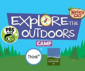 Explore the Outdoors Virtual Summer Camp with Nature Cat and Five Rivers MetroParks Coming to ThinkTV next week!