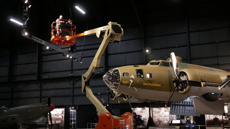 """""""The Memphis Belle: Her Final Mission"""" – Two Nights in the Museum"""