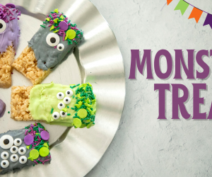 Adorable Monster Treats