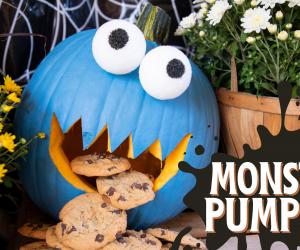 Create Your Own Monster Pumpkin!