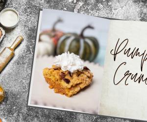 Easy to Make Pumpkin Crunch Recipe!
